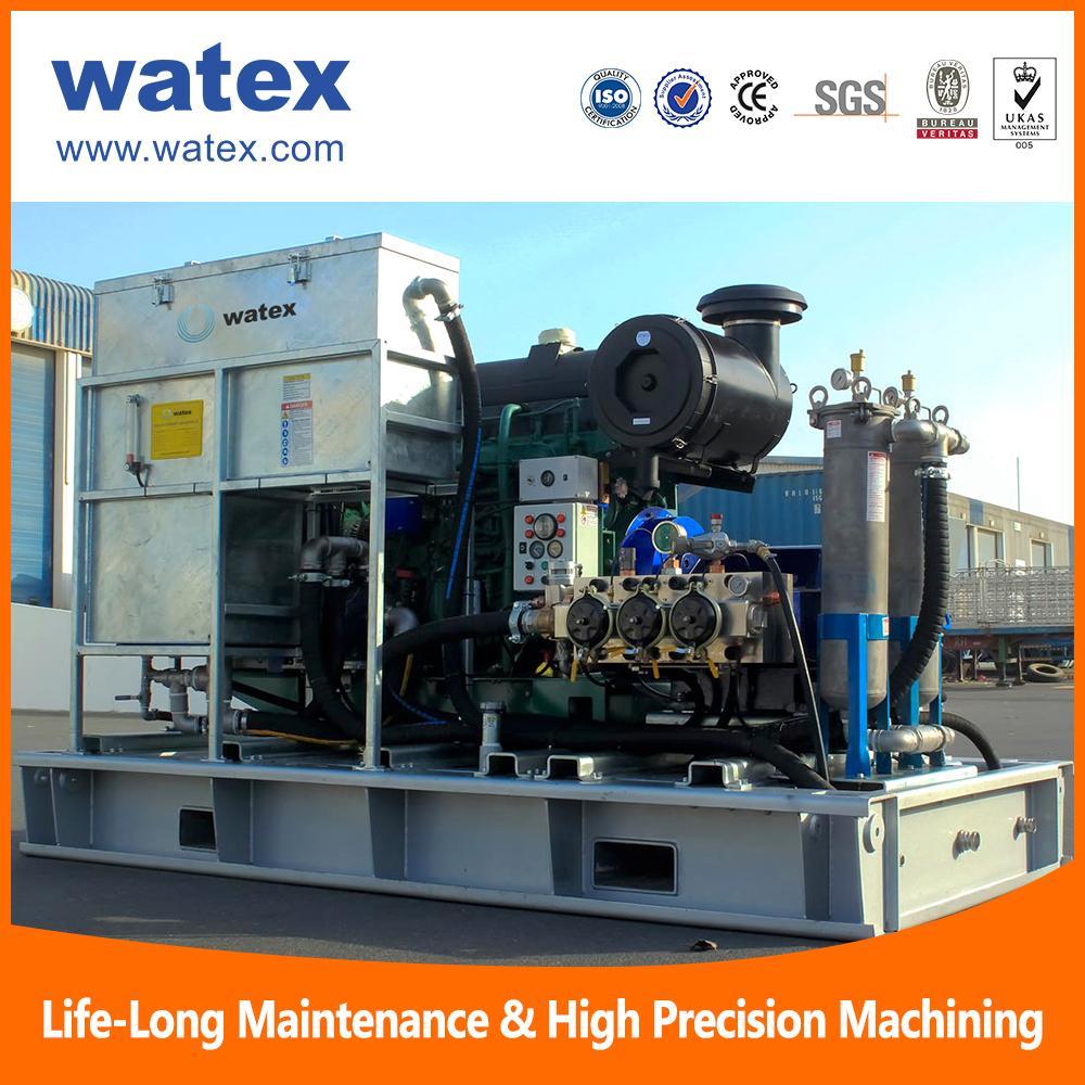 high pressure water jet cleaning machine