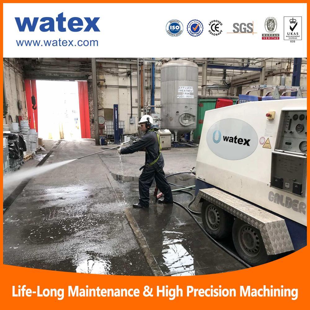 High pressure water jet cleaning machine 19