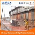 rust remove high pressure water blaster