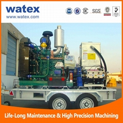 40000psi water blasting machine