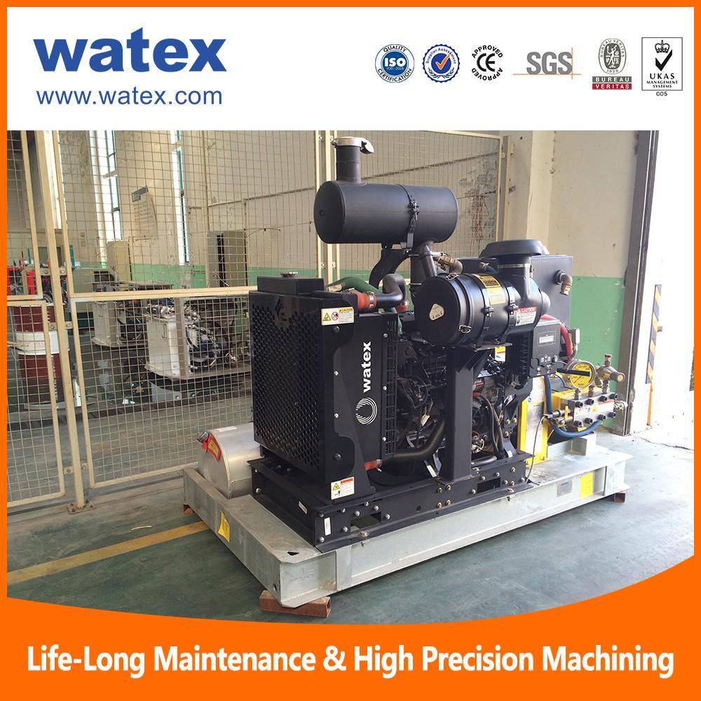40000 psi water blasting machine