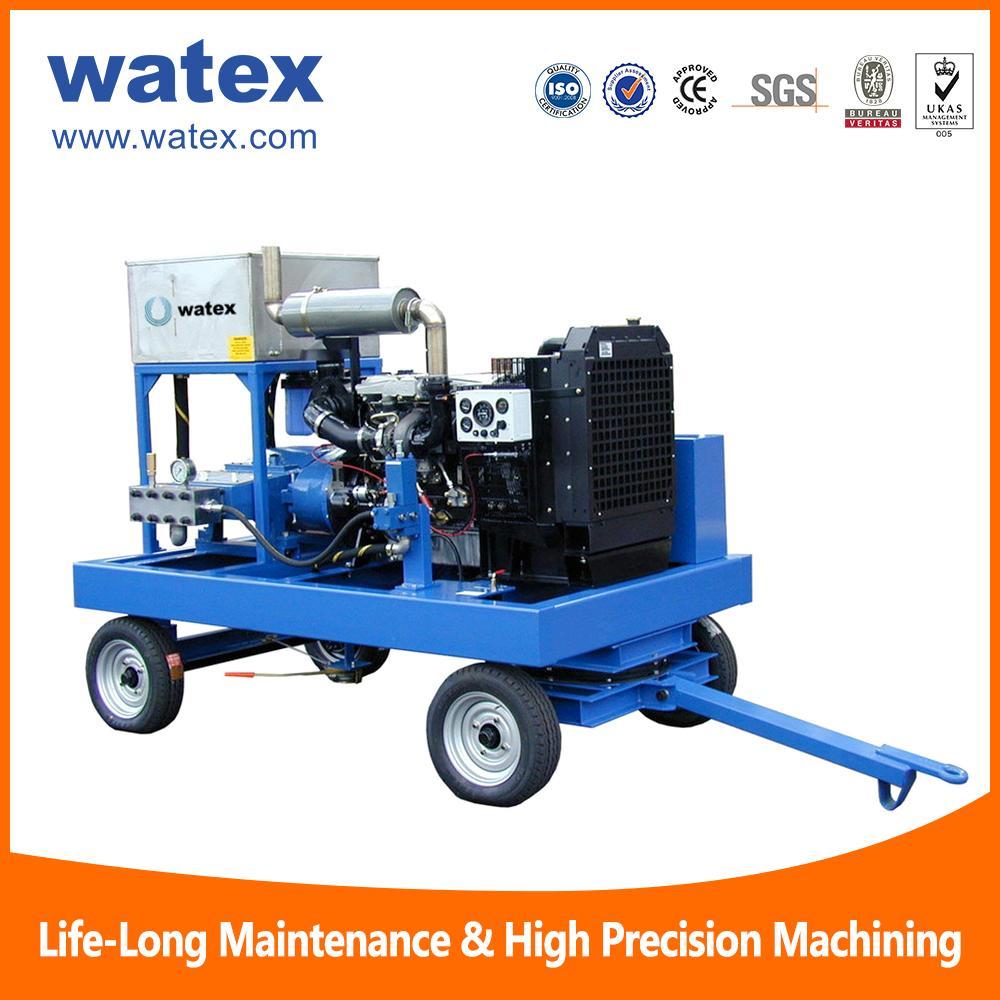 40000psi water blasting machine
