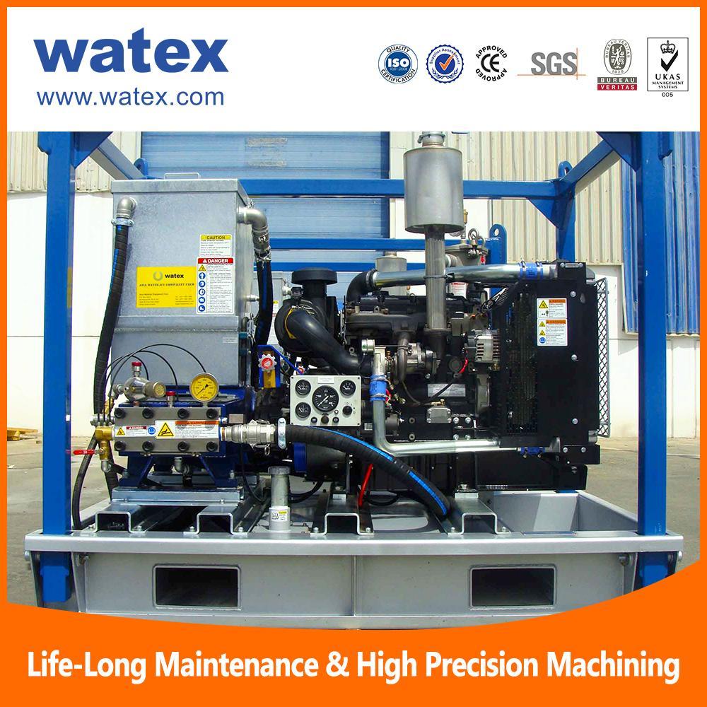 diesel high pressure water jet blaster cleaner