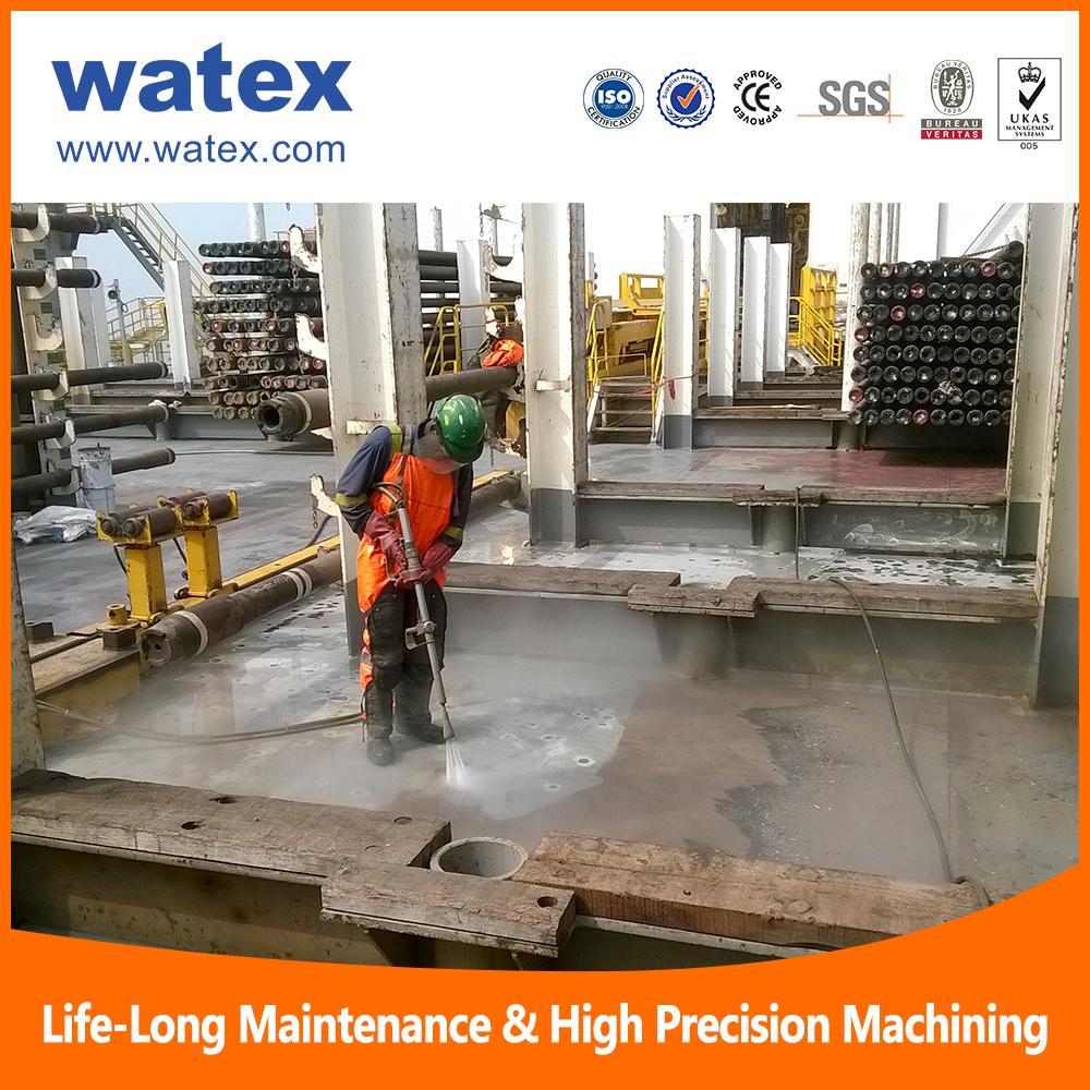 15000 psi high pressure water jet cleaning machine