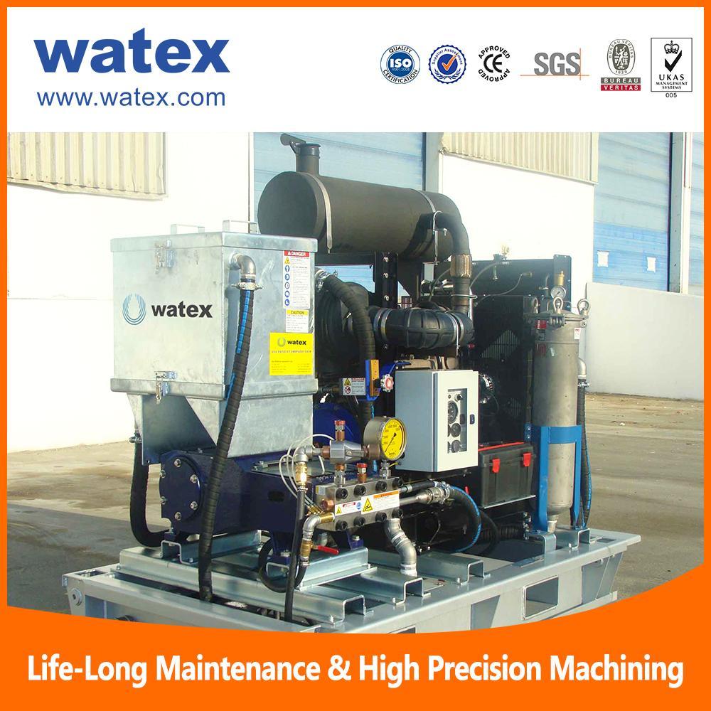 ultra high pressure water jetting