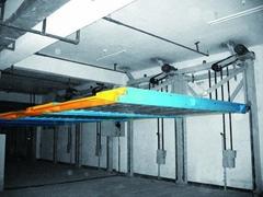 PJS(Parking lift) ground simple lifting parking system (principal & subordinate