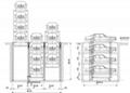PJS(Parking lift) ground simple lifting parking system (principal & subordinate  3