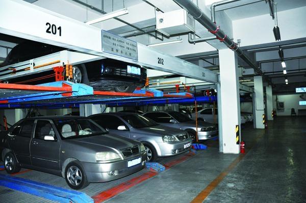 PSH(Puzzle type) Double-floor lift-sliding parking system 1