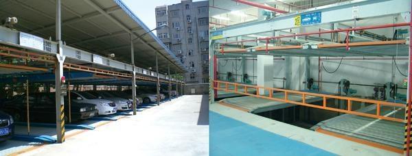 PSH(Puzzle type) Double-floor lift-sliding parking system 2