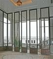 85型有框玻璃活动屏风 5