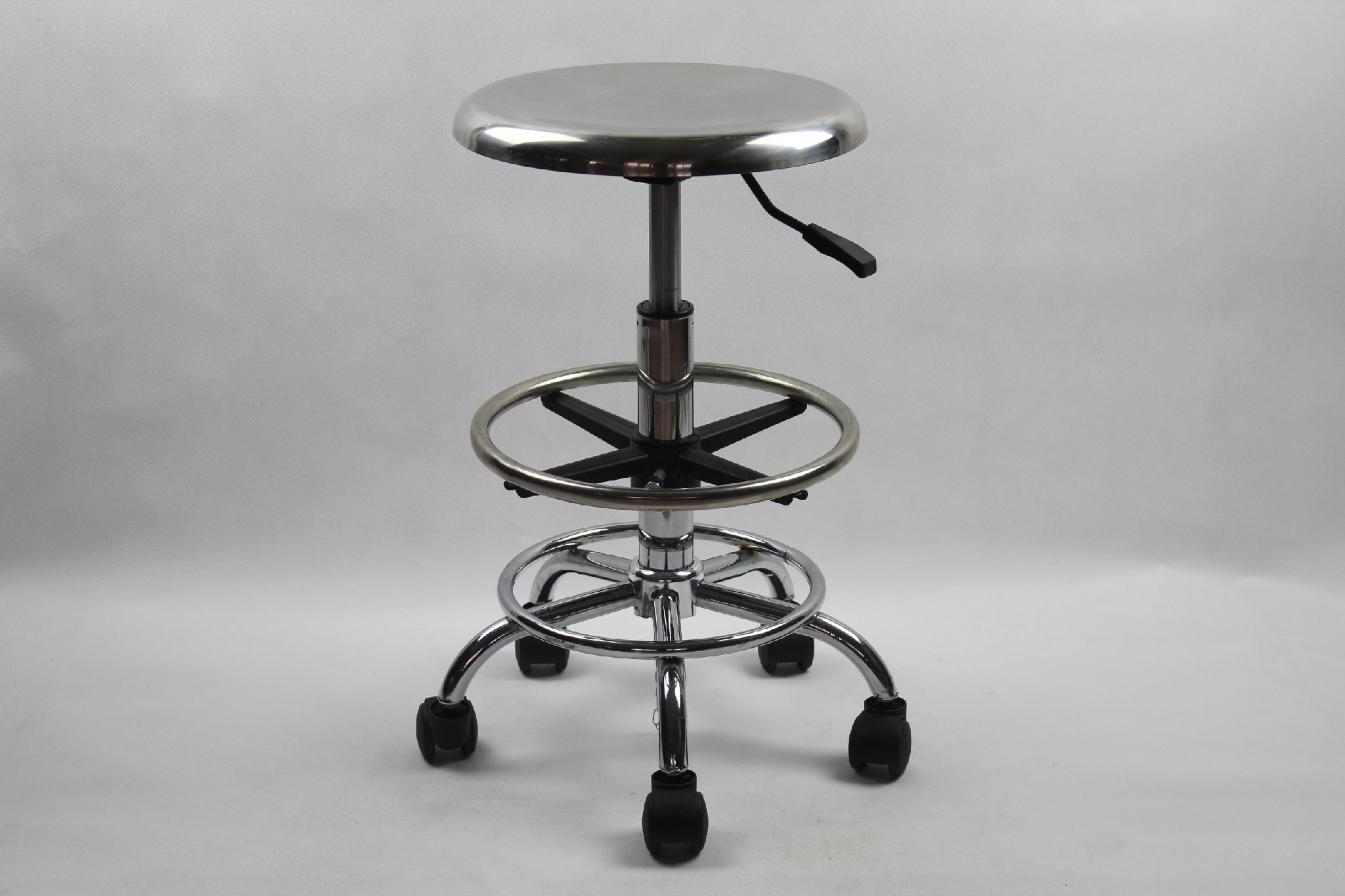 不鏽鋼防靜電昇降椅 2