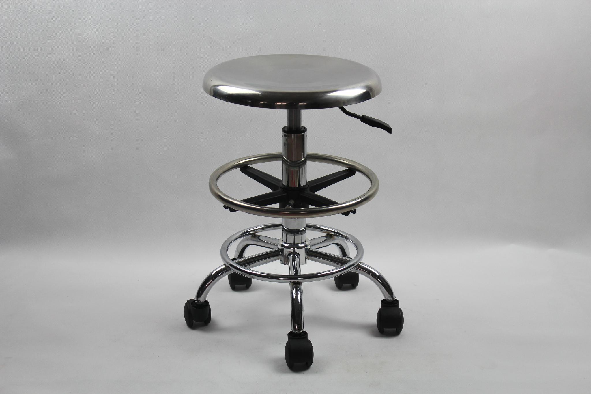 不鏽鋼防靜電昇降椅 5