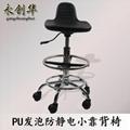 防靜電小靠背椅