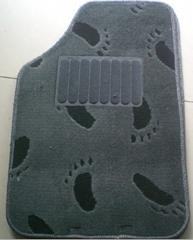Needle Felt Velour, Velvet, PP cut pile Jacquard car mat backing: eco-friendly b