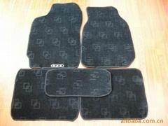 Car mat Tufted berber loop pile 520g/m2+PVC/TPR Nail backing