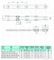 Hollow pin conveyor chains (MC series)