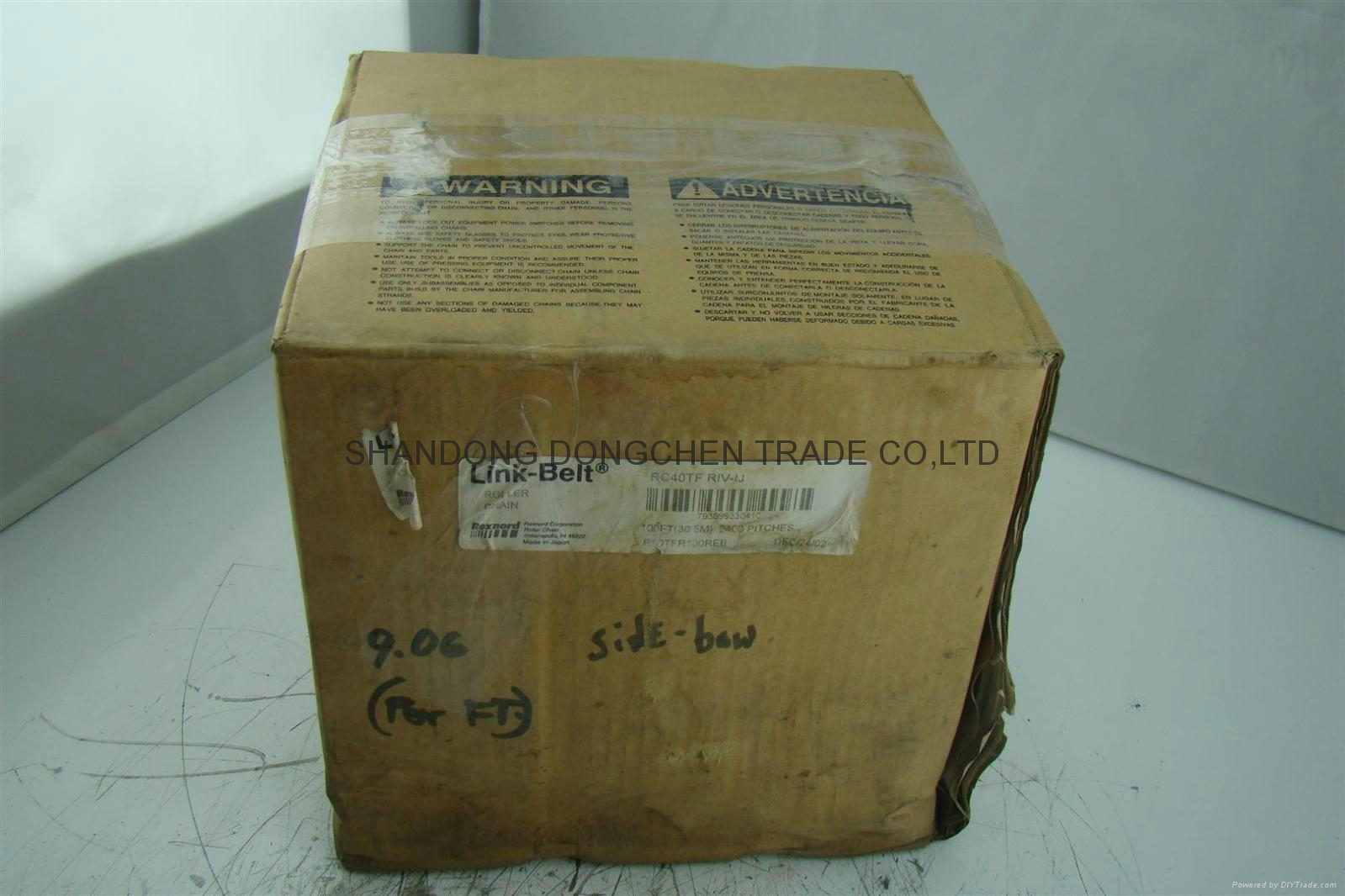REXNORD Industrial Chain ISO ANSI BS DIN JIS 1