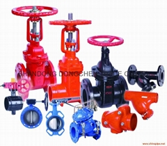 Ball valves+ Butterfly valve+ Oil field valve Power valve Water treatment valves