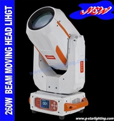 260w newest  Beam /Spot moving head light/stge lights/ stage effect light