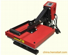 Fat Heat press machine for Pu heat transfer
