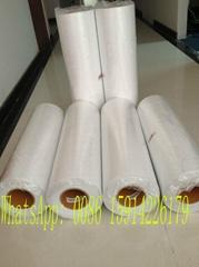 High quality pu material heat transfer flex flock film for clothing