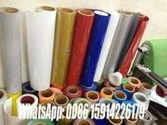 vinyl fabric pu heat transfer flex vinyl film for t-shirt/heat transfer paper
