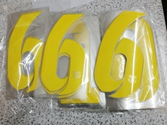 football number and letter for chelsea club