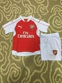 2015 to 2016 home Arsenal jersey for kids