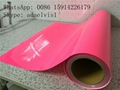 JY transfer film silicone pet film / heat transfer polyester film Flex PU tape 1