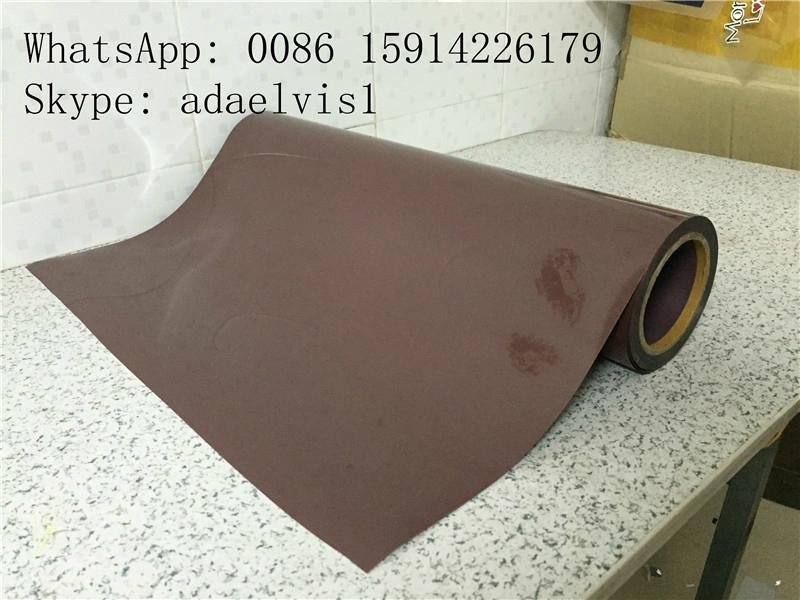 JY transfer film silicone pet film / heat transfer polyester film Flex PU tape 2