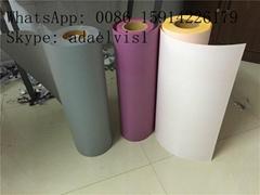 JY White PVC Heat Transf