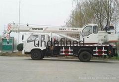 10T Lifting capacity truck crane