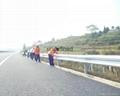 武汉高速公路波形梁防撞钢护栏 1