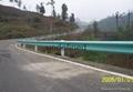 武汉高速公路波形梁防撞钢护栏 2