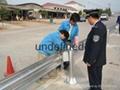 武汉高速公路波形梁防撞钢护栏 4