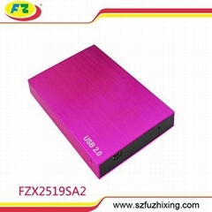 Best Quality Aluminum 2.5 Inch SATA External HDD Enclosure