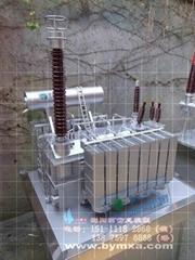 会展用电力变压器展览模型定制