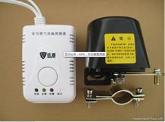 家用燃气报警器连带制动阀机械手电磁阀