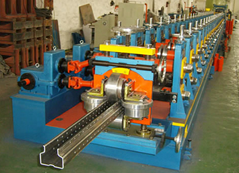 Warehouse Rack and Shelf Making Machine