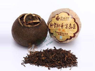 宮廷柑普生態茶 1