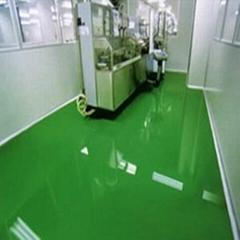 無溶劑環氧樹脂自流平地坪