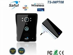 video door phone with wireless indoor dingdong doorbell