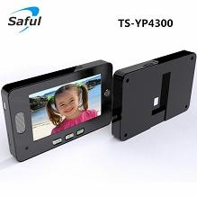 digital door viewer peephole viewer Saful TS-YP4300 4.3 inch digital video door