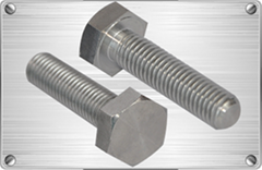 Titanium hex bolt for chemical industrial or motorcycle using