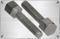 Titanium hex bolt for chemical