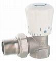 brass thermostatic radiator valve with