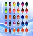 MERCAHV soak off color change nail gel polish C07 for nail art painting 3