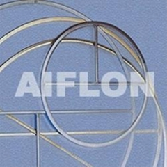 ChinaCixiAiflon.Metal clad flat gasket