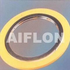 ChinaCixiAiflon.Metal wound gasket (with outer ring)