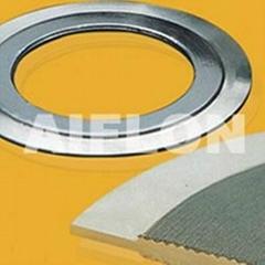 慈溪埃弗龙密封件带外环金属齿形垫片(一体型)